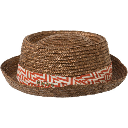 Surf Complete your summer look with the sun-ready Volcom Women's Caught On A Yacht Straw Hat. Whether you are going casual with a shirt and jeans or rocking the beach in your bikini, this hat adds that something extra you need. - $9.88