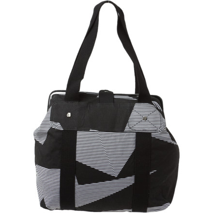 Surf Make sure you have plenty of mood stabilizers in your Volcom Women's Strangler Frame Bag. The pills aren't for you, they're to hand out to the people who feel overwhelmed by your sense of fashion. - $24.73