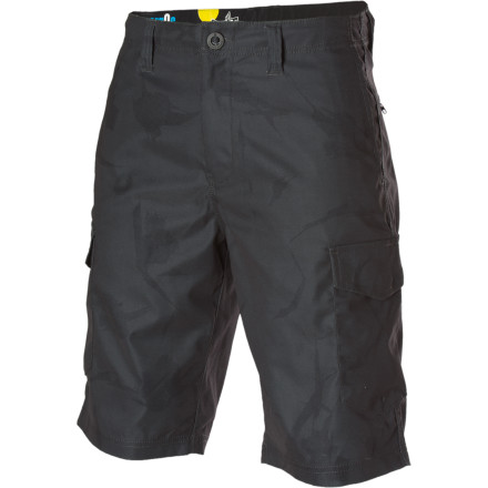 Surf Thanks to the Volcom H20 Cargo Short, you'll never again have to cut leg-holes in a backpack. - $32.97