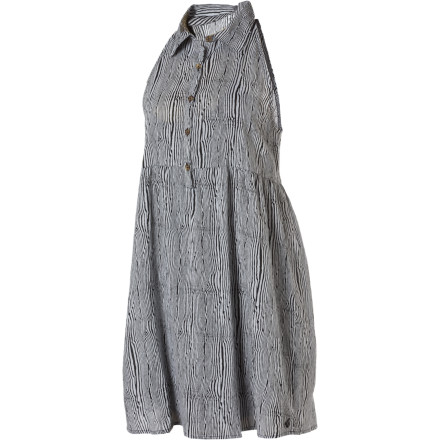 Entertainment The Volcom Not So Classic Bare Dress leaves you comfortable and cool while you grab a bite to eat at your neighborhood cafe. - $16.49