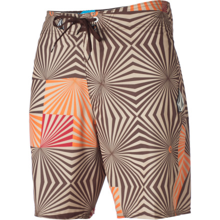Surf The concept for the Volcom Newops Board Short is simple: a board short that can stretch like a rubber band without unforgiving seams unnecessarily rubbing you raw. - $24.73