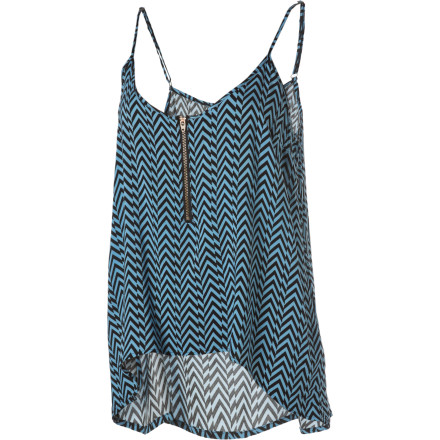 Surf If you're clumsy and tend to fall flat on your face often, we find that looking good while doing so makes you appear to falling more gracefully. OK, maybe not, but you will still like the Volcom Faceplant Tank Top. - $22.48