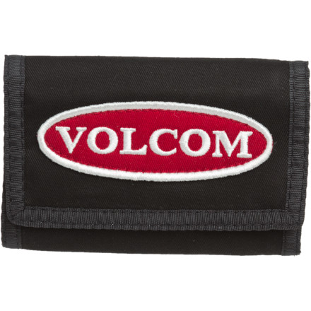 Surf Volcom Patches Tri-Fold Wallet - $8.98