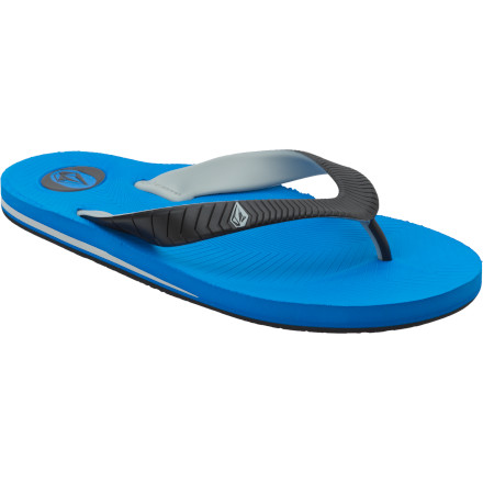 Surf Don't take a chance on that questionable public-shower floor. Pick up the Volcom Concourse Creedler Sandals and protect your feet from nastiness the likes of which science has never seen. - $10.98