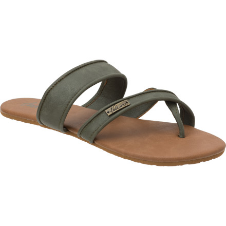 Entertainment The Volcom Cooler Than Me Creedler Sandal isn't nearly as stuck-up as it sounds. - $15.57