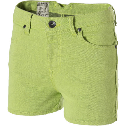 Surf Show off your bottom half in the Volcom Women's What The Twill Shorts. These sassy little bottoms showcase your stems and keep your booty looking good. - $14.84