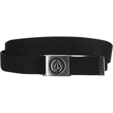Surf Get your little ripper the Volcom Youth Circle Stone Belt, but don't be surprised if he still sags his pants. - $13.95