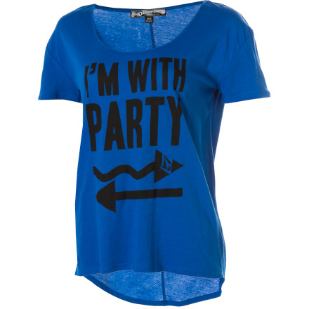 Surf Volcom I'm With Party Ruling Short-Sleeve T-Shirt - $13.25