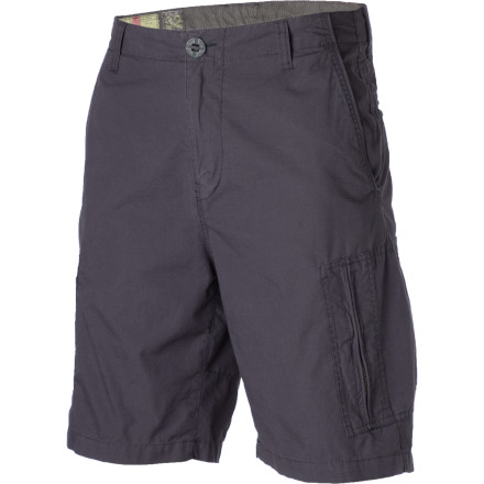Skateboard Wear the Volcom Vega Cargo Shorts to afternoon barbeques when you want a look that is laid-back but still sharp. These shorts are great for school, work, or riding around town on your longboard. - $35.72