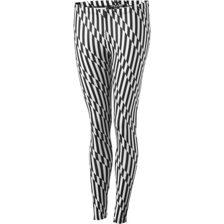 Surf Slide your legs into the Volcom Hot Sunday Leggings no matter what day it is. These sassy little leggings are great for Saturday nights at the club, Sunday brunches, and everything in between. - $25.17
