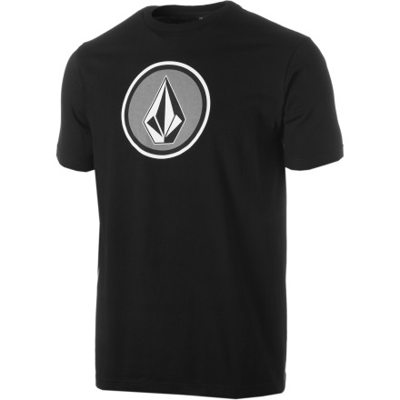 Surf The Volcom Cognito T-Shirt might match your usual outward appearance, but if you add a fake mustache, glasses, top hat, cane, and suspenders, then you might actually be able to hide your identity. - $11.97
