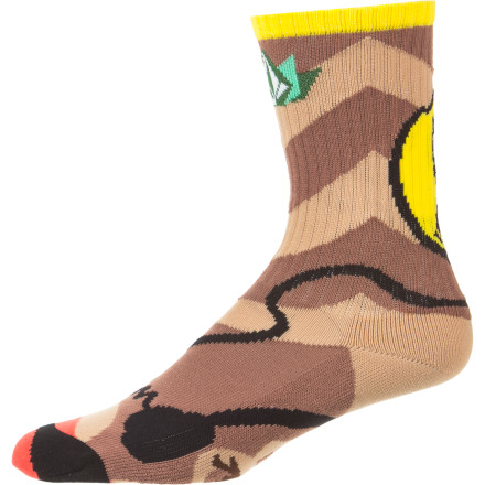 Surf Volcom V.CO Loves Puppet Sock - $7.17