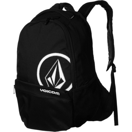 Camp and Hike Be it a skate to school, metro ride to work, or boat ride off the coast of Costa Rica to surf an offshore break, the Volcom Equator Backpack is simply a functional pack to bring along just about anything you'd need for a full day out and about. - $29.37
