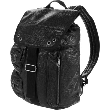 Camp and Hike Forget about class and work, it's time for a little 'you-time'and the Volcom Ditch Day Backpack is just the right accessory to bring everything you need, including the laptop. Because even if you're having a day away you still need to get a little work done. - $48.62