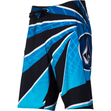 Surf The Volcom Fiji Pro Board Short is not only stretchy, comfortable, and fast-drying, it's also a rather accomplished amateur piercing artist. (If it offers you the 'back-alley special', for the love of all that is holy, say 'no'.} - $35.97