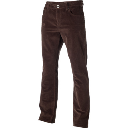 Surf A touch of stretchy elastane gives the Volcom Men's Kinkade Cord Pant that buttery-smooth feel you've been searching for. Just wait, this pant will shatter your expectations of what it means to wear something on the lower half of your body. - $69.45