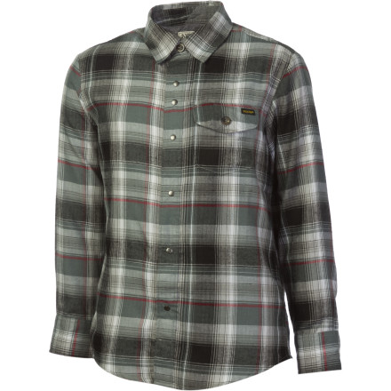 Surf Volcom Wanton Button-Down Long-Sleeve Shirt - Boys' - $24.73