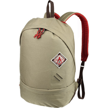 Camp and Hike It doesn't matter if you roll, stroll, or crawl (after a hard night) to class or work because you'll have everything necessary to survive the day in the Volcom Crowley Backpack. - $33.57