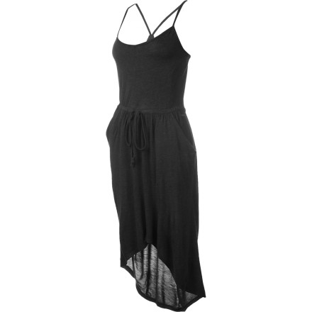 Entertainment The Volcom Autumn Spice Tulip Dress dresses up your look for those special-occasion events that require a bit more sophistication than your standard uniform of jeans and a T-shirt. Plus, this breezy, smart looking dress will make you look so good, you might even start wearing dresses full-time. - $29.59