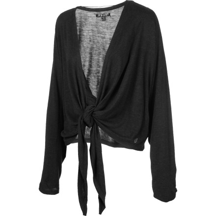 Fitness Use the Volcom Autumn Spice Kimono as a clever swim cover-up or layer it up with your favorite dress for an evening out. This versatile piece blends subdued colors with a dose of high-fashion to spice up the chill of fall. - $27.48