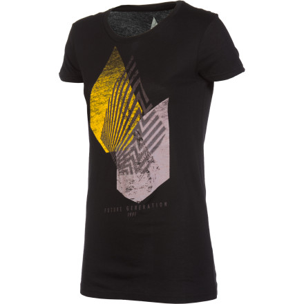 Surf Volcom Future Gen Short-Sleeve Slim Crew - $14.59