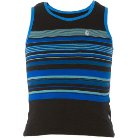 Surf The water shortage prevents sprinkler parties in the front yard, but with the Volcom Little Boys' Los Pockitos Tank Top and a little creative charm, you and your little man can convince the neighbors to invite you into their pool. - $7.58