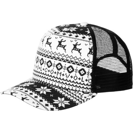 Surf Volcom Snow Days Cheese Trucker Hat - $13.17