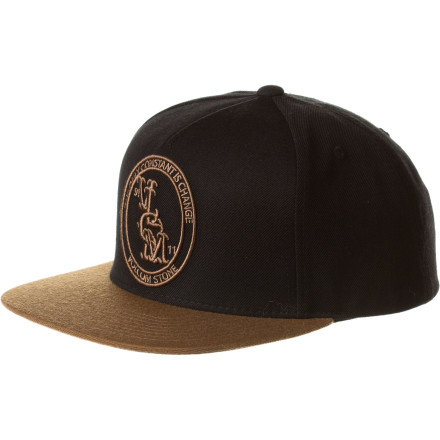 Surf Volcom Crook Snapback Hat - $14.97