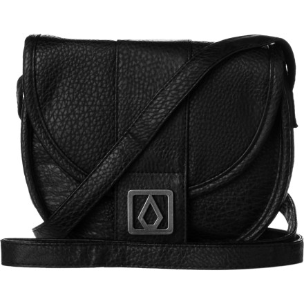 Surf Forget about jamming your coat or pant pockets with your wallet, keys, and essentials, and turn to the Volcom Women's Candy Shop Shoulder Bag. This simple, easy-to-wear bag holds everything you need for a quick trip to the store or a night out with the gals. - $23.96