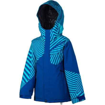 Snowboard Nothing is going to convince him to get off of his snowboard and come into the lodge to warm up. Make sure he's zipped up in the Volcom Boys' Ace Insulated Jacket so he can rock the mountain from dawn 'til dusk without wasting time on 'warming up.' - $59.98