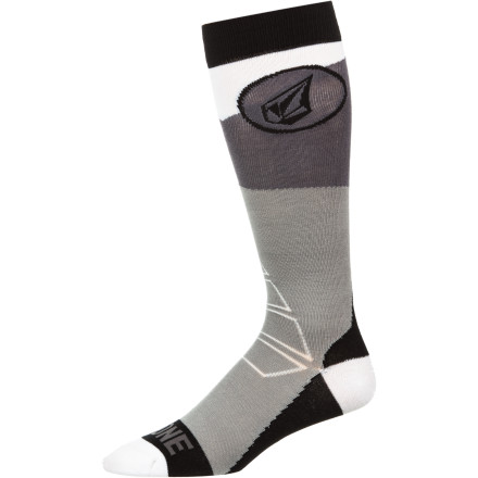 Snowboard Before you put your boots on and get ready to rock, put on the Volcom Booton Sock. - $8.37