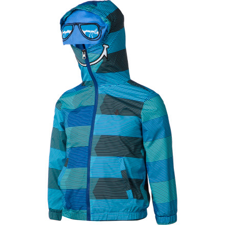 Surf The Volcom Toddler Boys' Sonrisa Jacket protects your little guy from chilly wind, and it protects him from prying eyes when he's on undercover missions and needs to protect his identity. This jacket will keep him feeling and looking good whether he's headed to school or off to steal state secrets. - $41.62