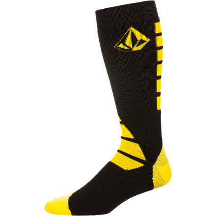 Snowboard Socks are the most important accessory one can rock when heading to the hill to sprock. Because when you feel that chill and you're not rocking the Volcom Scranton Sock, your toes will feel ill and your nails will turn black and peel. Ya feel - $9.88