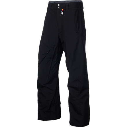 Snowboard The Volcom Ventral Pant hooks up a hefty list of features at a price even resort-town dirtbags can afford. 10K-rated waterproof/breathable fabric and the Zip-Tech jacket-to-pant attachment system keep you dry and stoked from early-season park laps to late-spring dumps. - $87.97