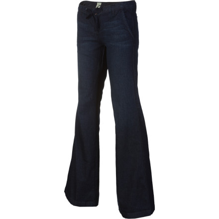 Surf The Volcom V.Co Wide Leg Denim Pant is a retro-inspired flare-bottom pant with a modern twist. - $53.67