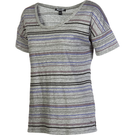 Surf Volcom Pop Strype T-Shirt - Short-Sleeve - Women's - $23.56