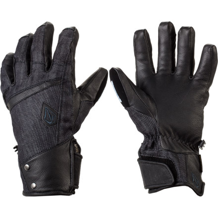 Snowboard Equip your hands with the technology to get rad and not worry about what the weather is up to with the Volcom Crail VBJ Glove. And if you get these, you're pretty much obligated to bust out some seatbelt crails at least three times a day...just keep that in mind. - $56.97