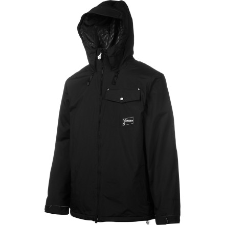 Snowboard The Volcom Discourse Insulated Jacket brings extra heat to your game thanks to a lightweight layer of insulation. This jacket will keep you toasty during frigid night sessions or cold lift rides. Just zip up and let this jacket keep you warm. - $78.73