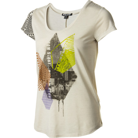 Surf Volcom Stone Time T-Shirt - Short-Sleeve - Women's - $19.14