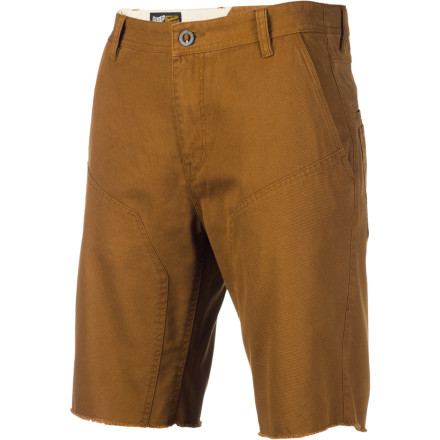 Surf Get some sun on those pasty white legs with the Volcom Men's Doozy Shorts. These casual walk shorts are primed for laid-back warm-weather days when the only thing you have to worry about is keeping the beer cooler full. - $32.97