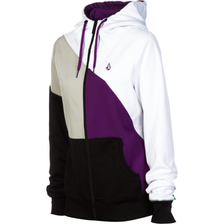 Surf Volcom Nepeta Fleece Full-Zip Hoodie - Women's - $29.98