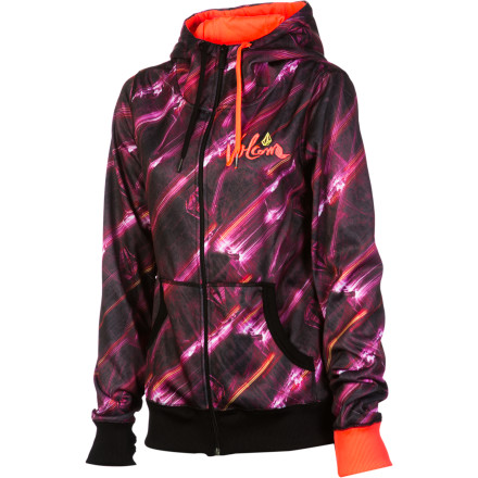 Surf Volcom Centella Fleece Full-Zip Hoodie - Women's - $55.97