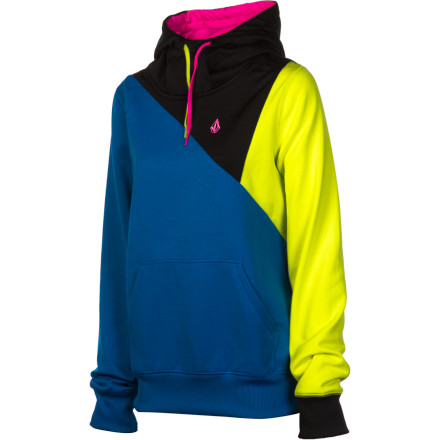 Surf Volcom Avena Fleece Hooded Pullover - Women's - $32.97