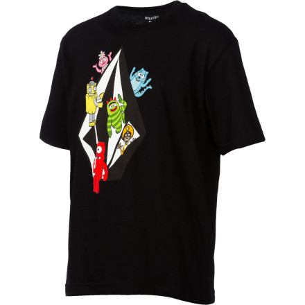 Surf Volcom YGG Stone T-Shirt - Short-Sleeve - Boys' - $4.99