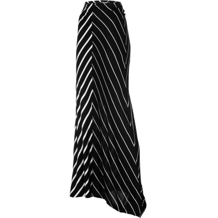 Surf Slide on the Volcom Women's Sugarhill Convertible Striped Maxi Skirt, grab your portfolio, and give yourself a quick check in the mirror before you begin another day interviews. Sooner or later someone's going to see your potential and, if anything, they'll definitely note your sense of fabulous style. - $44.51