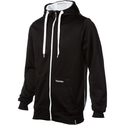 Surf Volcom Likealion Hydro Fleece Full-Zip Hoodie - Men's - $49.47