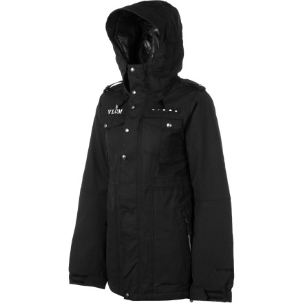 Snowboard Cold lift rides suck, and unless you're riding in a luxurious heated gondola, you'll need your Volcom Women's Task Insulated Jacket to keep you warm. Make the lift ride your chance to relax and regroup to pulverize your next run, instead of a miserable shiver-fest. - $111.98