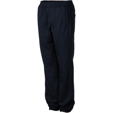 Surf The Volcom Boys' Chilax Sweat Pants give your kid a relaxed easy feel that is perfect for hanging out around the house and video game marathons when it's too rainy to play outside. - $13.49
