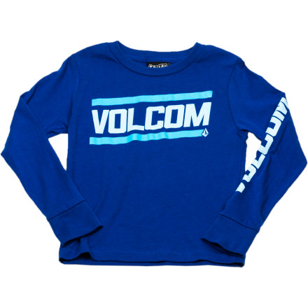 Surf Volcom Speed Shop T-Shirt - Long-Sleeve - Little Boys' - $8.98
