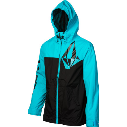 Snowboard Zip up in the Volcom Brighton Jacket and tag a few extra days onto your snowboarding season. This lightweight jacket repels light snow and shoulder-season sprinkles so you can enjoy mild-weather conditions and stretch your ride time. - $79.95